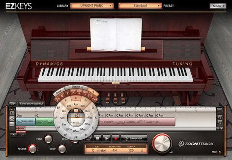 Toontrack EZ-KEYS-UPRIGHT Upright Piano Software Instrument  (Electronic Delivery) EZ-KEYS-UPRIGHT