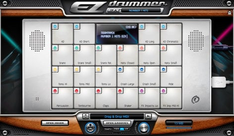 Toontrack Number 1 Hits EZX Drum Expansion for EZdrummer/Superior Drummer (Electronic Delivery) NUMBER-ONE-HITS