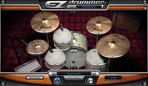 Toontrack Vintage Rock EZX Vintage Rock Expansion for EZdrummer/Superior Drummer VINTAGE-ROCK
