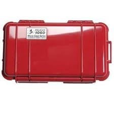 Pelican Cases 1060 Red Micro Case PC1060-RED