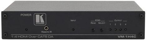 Kramer VM-1H4C 1:4 HDMI Twisted Pair Transmitter & Distribution Amplifier VM-1H4C
