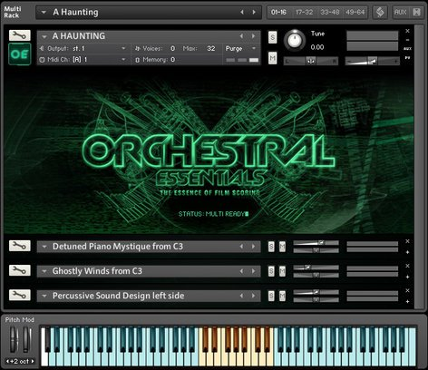 ProjectSAM Orchestral Essential Film Scoring Software Instrument ORCHESTRAL-ESSENTIAL