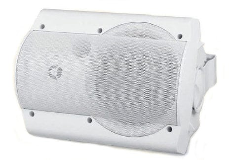OWI AMPLV6022W Low Voltage Amplified Surface-Mount Speaker Combo in White: 1x AMPLV602W, 1x P602W AMPLV6022W