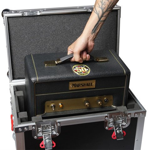 Gator Cases G-TOURMINIHEAD2  ATA Tour Case For Medium 'Lunchbox' Amps G-TOURMINIHEAD2