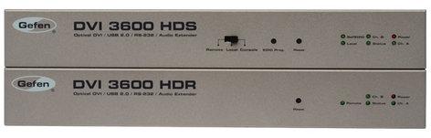Gefen Inc EXT-DVI-3600HD DVI/USB 2.0/RS-232/Analog Audio Extender EXT-DVI-3600HD