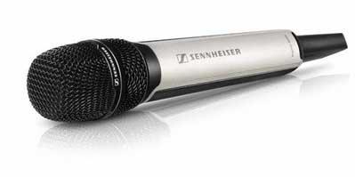 Sennheiser SKM9000 NI Handheld Transmitter, Nickel, No Mic Head SKM9000-NI