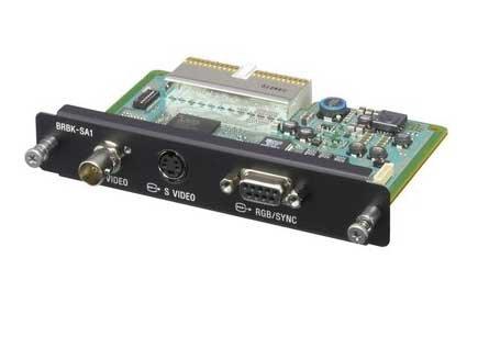 Sony BRBKSA1  Analog SD Output Card  BRBKSA1