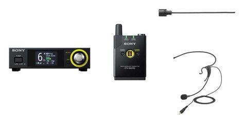 Sony DWZB70HL Headset/Lav Wireless System DWZB70HL
