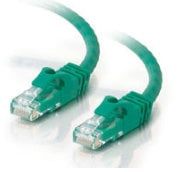 Cables To Go 27171  3' Cat6 550MHz Snagless Patch Cable, Green 27171