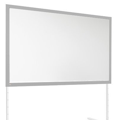 """Draper 386121 220"""" HDTV FocalPoint® Portable Projection Screen, matte White, [SURFACE ONLY] 386121"""