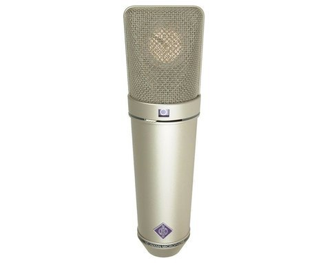 Neumann U 87 Ai Set Z Multipattern Large Dual Diaphragm Condenser Microphone in Satin Nickel Finish with Wood Case, EA 87 Shock Mount, WS 87 Windscreen, & IC 3/25 Cable U87AI/SET-Z/SILVER