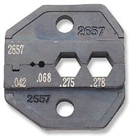 Paladin Tools PA2657  CrimpALL Interchangeable Die Sets for Coaxial Connectors, RG6 PA2657