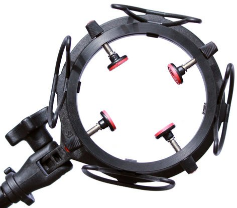 Rycote InVision USM-VB Universal Studio Shockmount for Microphones 55-68mm in Diameter, 99g Weight Cap. 044912