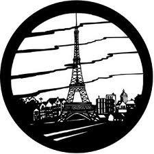 Rosco 77820-ROSCO Paris Gobo 77820-ROSCO