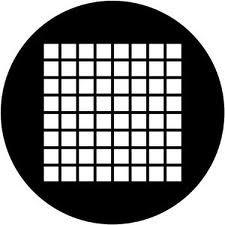 Rosco 78041 Small Squares Gobo 78041