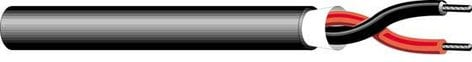 West Penn AQC224  Aquaseal 2 Conductor Communication Cable, 1000ft AQC224