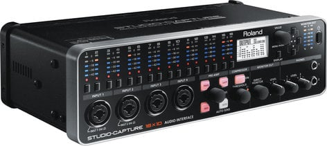 Roland UA-1610 STUDIO-CAPTURE 16x10 USB 2.0 Audio Interface with 12 Premium Microphone Preamps UA1610