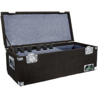 Grundorf Corp MC-24CRB  24 Compartment Microphone Case, Black MC-24CRB