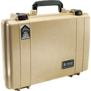 Pelican Cases PC1470-DESERT-TAN Desert Tan Laptop Case with Foam Interior PC1470-DESERT-TAN