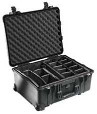 Pelican Cases PC1560SC Large Studio Case with Handle and Padded Dividers PC1560SC