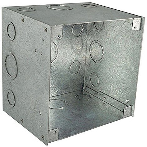 "RCI Custom WB-3G/6 6"" D 3-Gang Locking Wall Box for WB-3G-C WB-3G/6"