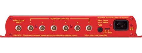 Sonifex RB-DDA6W  6 Way Word Clock Distribution Amplifiers RB-DDA6W