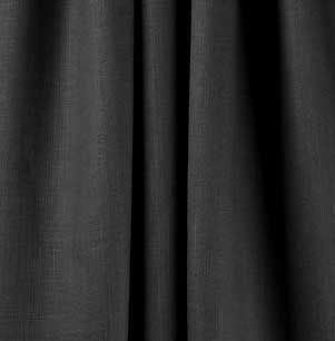 "Rose Brand BURL0059  59"" W Black Burlap BURL0059"