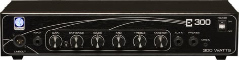 Eden Amplification E300 300W Solid-State Bass Amplifier Head E300-EDEN