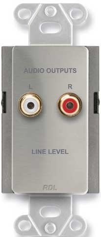 Radio Design Labs DS-A2  Passive Line Output Assembly DS-A2