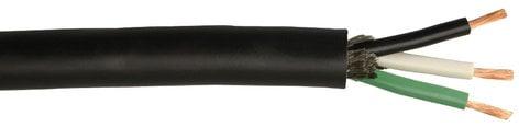 Coleman Cable 23387-BY-FOOT 23387 [PRICED PER FOOT] 14 AWG 3 Conductor Flexible Power Cable 23387-BY-FOOT