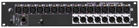 Soundcraft MINI-STAGEBOX-16 Mini Stagebox 16 16 x 8 Mini Stagebox for Si and Vi Consoles with MADI Card MINI-STAGEBOX-16