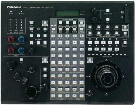 Panasonic AWRP120GJ Remote PTZ Camera System Controller with IP and Serial Connectivity AWRP120GJ