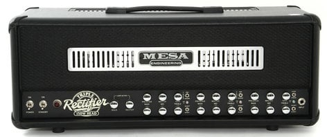 Mesa Boogie Ltd Triple Rectifier Head 150W 3-Channel Tube Guitar Amplifier Head TRIP-RECTIFIER-HEAD