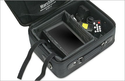 Marshall Electronics M-SC7 Fabric Carry Case for 7 inch Camera Top Monitors MS-C7