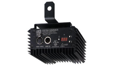 ETC/Elec Theatre Controls ES750-B 750W Electronic Silent Dimmer with Stage Pin Connectors ES750-B