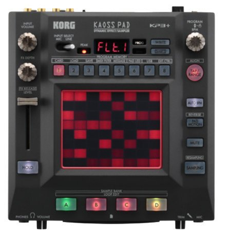 Korg KP3+ Kaoss Pad Dynamic Effects/Sampler with USB MIDI KP3+