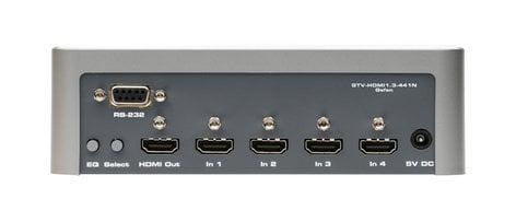 Gefen Inc GTV-HDMI1.3-441N Gefen 4x1 Switcher for HDMI with RS232 GTV-HDMI1.3-441N