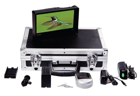 ikan Corporation VH8-DK-C  VH8 Field Monitor Deluxe Kit for Canon VH8-DK-C