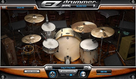 Toontrack BLUES-EZX Blues Drum Expansion for EZdrummer/Superior Drummer  (Electronic Delivery) BLUES-EZX