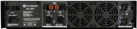 Crown XLi800 300W @ 4 Ohms Power Amplifier XLI800