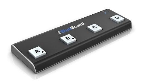 IK Multimedia iRig BlueBoard Bluetooth MIDI Pedalboard Controller IRIG-BLUEBOARD