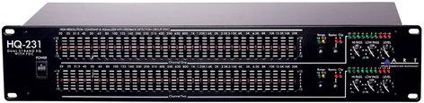 ART HQ231 Dual 31-Band EQ w/Feedback Detection Circuit HQ231
