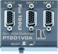 Kramer PT-201VGA 2x1 High Resolution VGA/XGA Switcher PT-201VGA