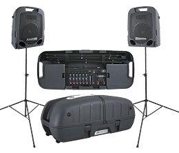 Peavey ESCORT-5000 Escort 5000 2x 250W Portable PA with 8-Channel Mixer ESCORT-5000