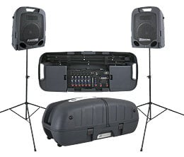 Peavey Escort 6000 2x 300W Portable PA with 9-Channel Mixer & Bluetooth Playback ESCORT-6000