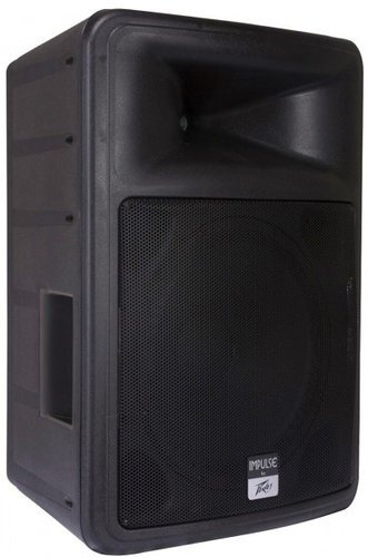 "Peavey IMPULSE-1015-BLK Impulse 1015 15"" 2000W Peak 2-Way Passive Speaker in Black IMPULSE-1015-BLK"