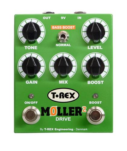 T-Rex MOLLER-2 Overdrive Distortion Pedal MOLLER-2