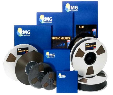 "RMGI SM468-35320 1"" x 2500 ft Recording Tape on 10.5"" Metal Reel SM468-35320"