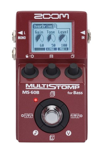 Zoom MS-60B Multistomp Effects Pedal MS-60B