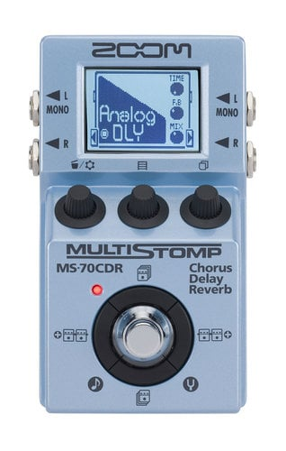 Zoom MS-70CDR Multistomp Effects Pedal MS-70CDR